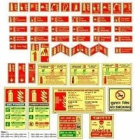 Fire Equipments Signs