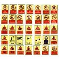 Aqua Safety Signs