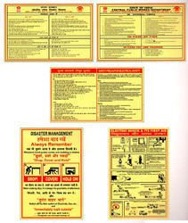 Safety Poster Signs
