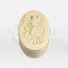 Oval Angelic Memory Box