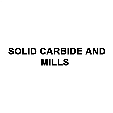 Solid Carbide Mills