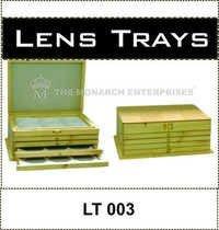 Wooden Lens Rack Set of 5 Trays
