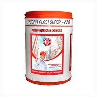 Plasticizing Admixture Chemicals