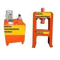 Hydraulic Clay Tile Press