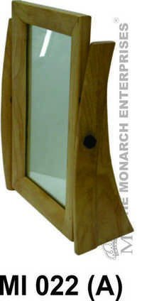 Natural Wood Optical Counter Mirror