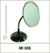Counter Metallic Silver Spring Mirror