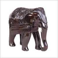Handcrafted Wooden Elephant
