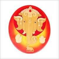 Wooden Ganapathi