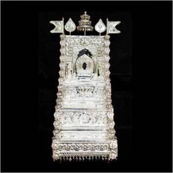 Silver Puja Peetha