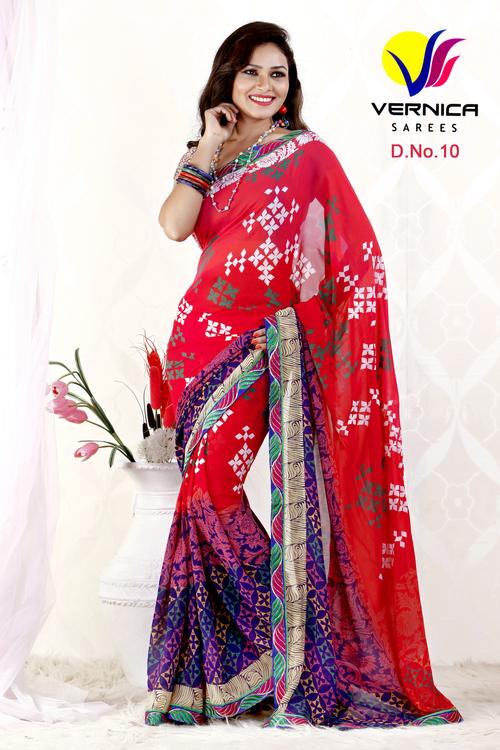 Hottest Print Saree