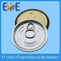 Egypt 209 Aluminum easy open end supplier
