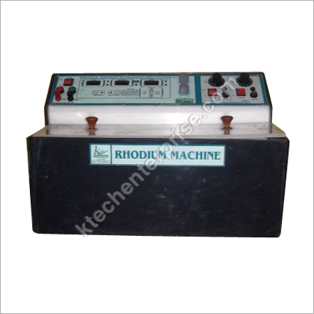 Rhodium Plating Machine