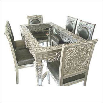 Silver Dining Room Furniture