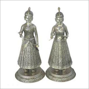 Antique Silver Statues