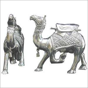 Silver Camel Statue