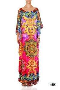 Tibetan Design Embellished Designer Kaftan