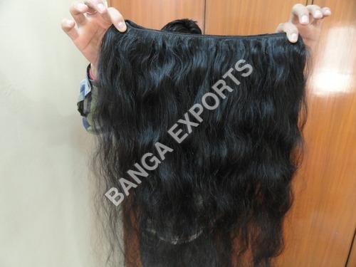 Machine Weft Silky Hair