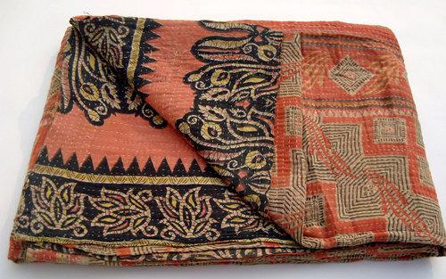 Queen kantha quilts