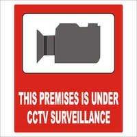 CCTV Sign Boards