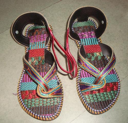 Multicolor Designer Sandal