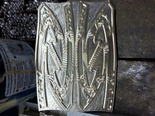 Embossing Shoes Molds