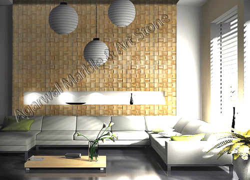 3D Wall Stone Mosaic Tile