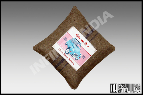 Brown Vintage Cushion