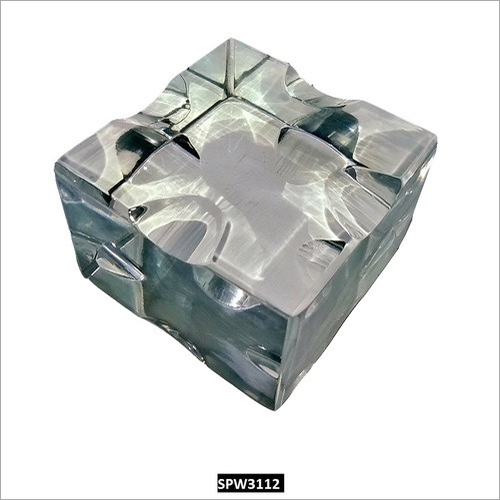 RASPER Clear Acrylic Paper Weight for Desktop