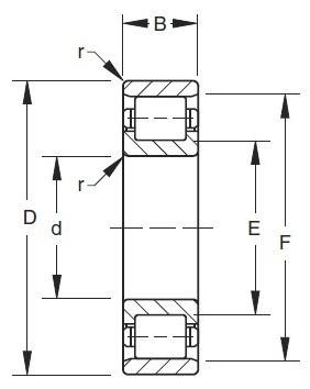 CRM 15 Inch Series Bearing