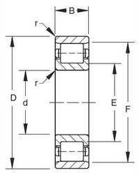 CRM 14 Inch Series Bearing