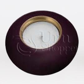Royal Purple Round Votive Candle