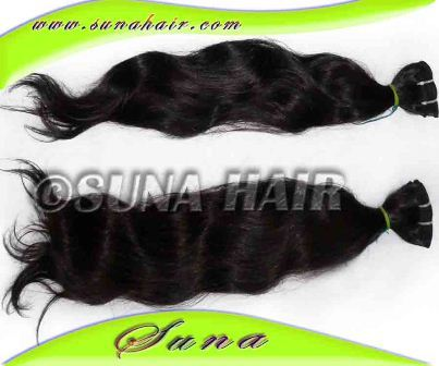 Factory price indian wholesale price wave body human hair