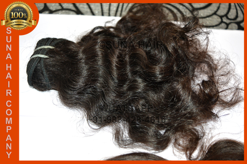 Impressive top quality lowest price silky curly remy virgin human hair
