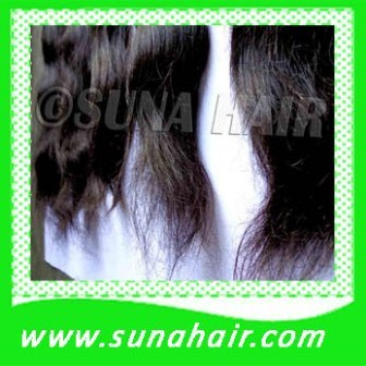 Malaysian hair for sewing double drawn straight human hair