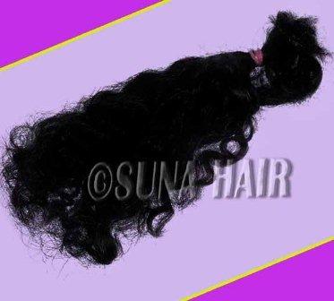 Charming indian natural big curly amazing remy virgin human hair free sample