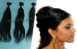 Machine weft Indian flabby looking no synthetic cuticle human hair