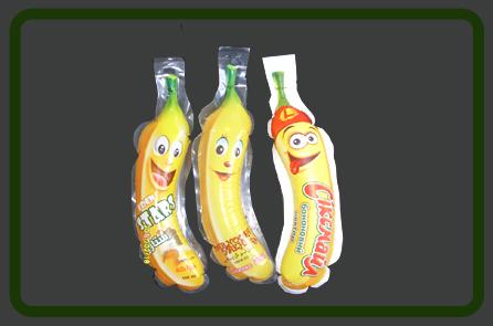 Banana Shape Pouch