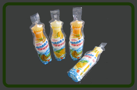 Bottle Shape Stand Bags