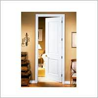 Two Panel Arched Door