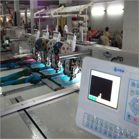 Garments Embroidery Machine