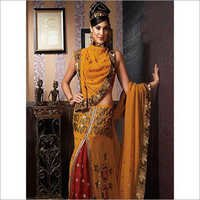 Heavy Embroidered Saree