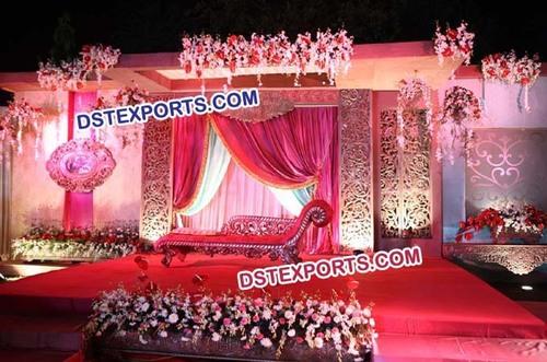 Wedding Stage Carving Fiber Backdrop Panels