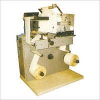 Label slitting counting machine