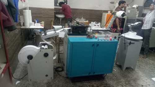 Flat Bed Label Punching Machine