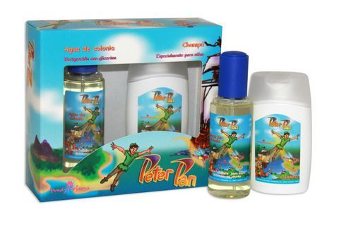 AGUA DE COLONIA AND SHAMPOO PETER PAN