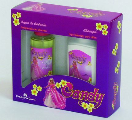 AGUA DE COLONIA AND  SHAMPOO CANDY