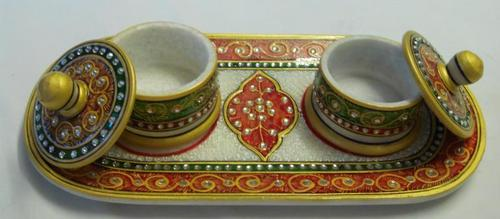 Two Bowl With Tray