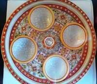 Revolving Dry Fruit Tray 4 Bowl