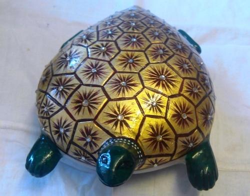 Floating Turtle Statue