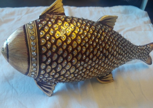 Floating Fish Statue